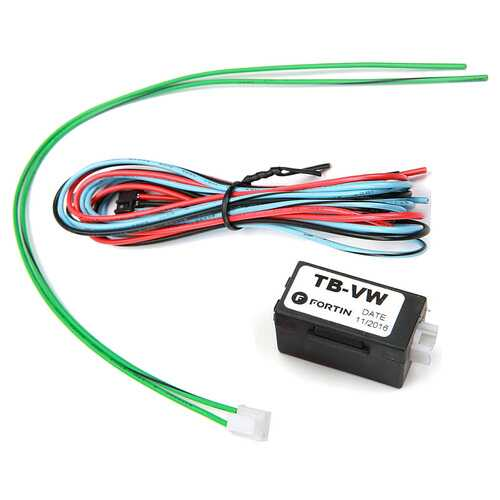 Fortin Transponder Bypass Interface for Volkswagen/Audi - Must be used with EVO-ONE or EVO-ALL