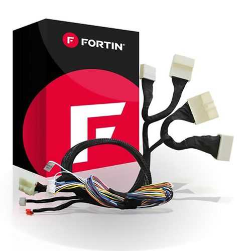 Fortin OEM Style T-Harness for Mazda 2013-2020 Push-to-Start; compatible with EVO-ONE