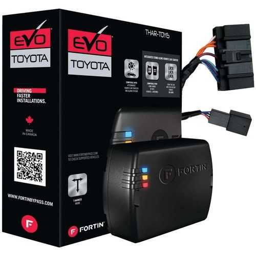Fortin T-Harness For '12-'21 Toyota/Lexus Push-to-start vehicles; compatible with EVO-ALL & EVO-ONE