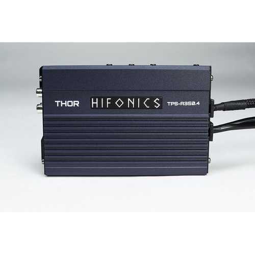 Hifonics Thor Compact 4 Channel Digital Amplfier - 4 x 80 Watts @ 4 Ohm