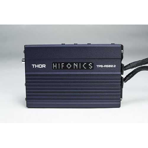 Hifonics Thor Compact 2 Channel Digital Amplifier 2x 120 Watts @ 4 Ohm