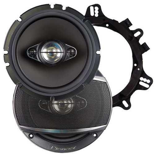"""Pioneer 6.5"""" Speakers 4 Way 350 Watts Max Pair"""