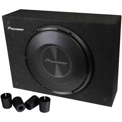 """Pioneer Shallow Sealed Enclosure with 8"""" Woofer 700 Watts  Max"""