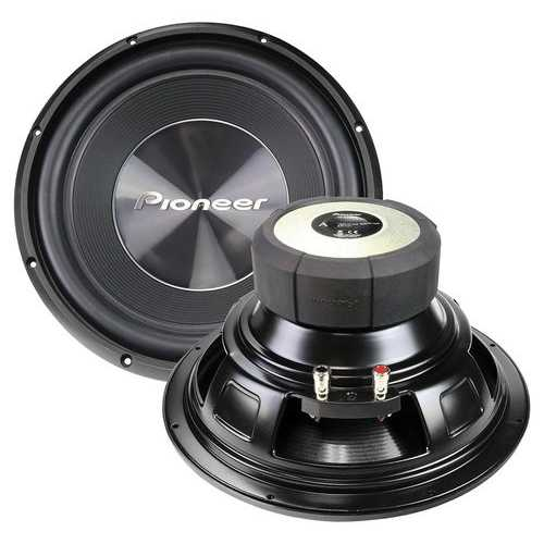"""Pioneer 12"""" Dual 4ohm Subwoofer - 1500 Watts Max"""
