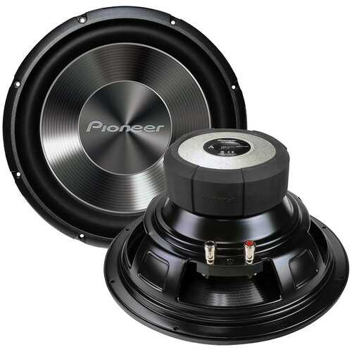"""Pioneer 12"""" Single  4ohm Subwoofer - 1500 Watts Max"""