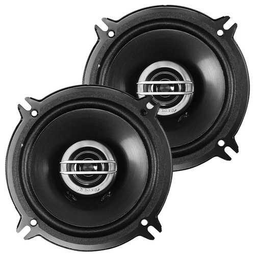 """Pioneer 5.25"""" 2 Way Speakers 250 Watts - Pair - No Grills"""