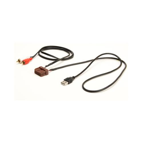 PAC USB Retention cable for '09-'13  Hyundai and Kia Vehicles