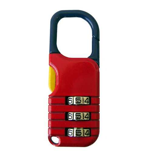 The Club Combination Back Pack Lock