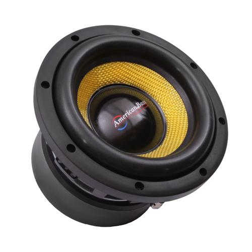 """American Bass 8"""" Competition Woofer 1200W max 4 Ohm DVC"""