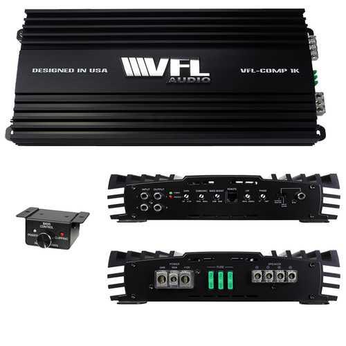VFL AUDIO COMP 1K  1000 Watts RMS Class D