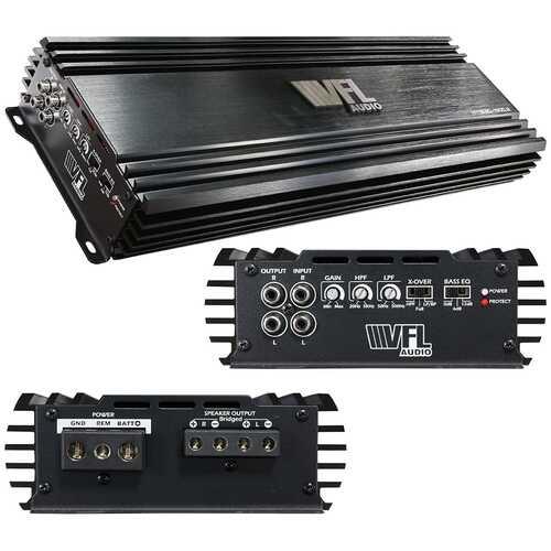 VFL Audio Amplifier 2 Channel 2000 Watts Max