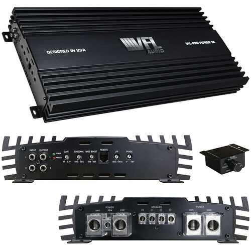VFL Audio Monoblock Amplifier 5000 Watts RMS