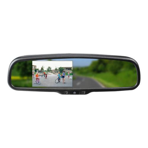 "BOYO 4.3"" rearview mirror bluetooth built in speaker"