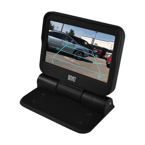 "Boyo 4.3"" Motorized flip up back up monitor"