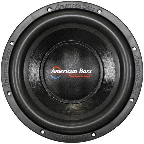 "American Bass 10"" Woofer 1000W Max 2 Ohm DVC"
