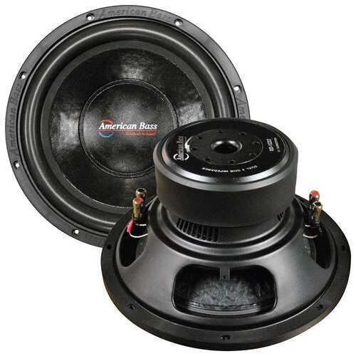 "American Bass 12"" Woofer 1000W Max 2 Ohm DVC"