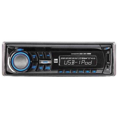 Dual AM/FM/CD-R/RW/MP3/WMA USD contol for ipod/Phone 3.5mm SWI ready Remote 2 Pre-amp out