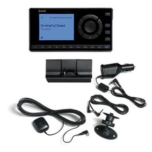 Audiovox SiriusXM Satelite Radio Receiver with Car Kit