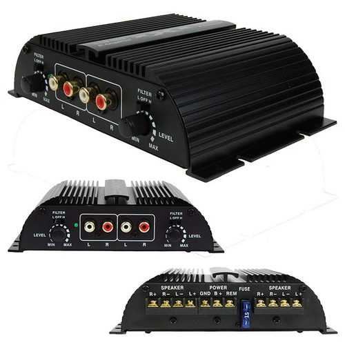 XXX 4 Channel IC Amplifier 400W Max