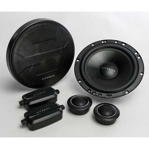 """Hifonics Zeus 6.5"""" 2-Way Component Speaker 300 Watts MAXX"""