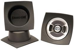 DEI Boom Mat Speaker Baffles 4 Round Slim Pack of 2