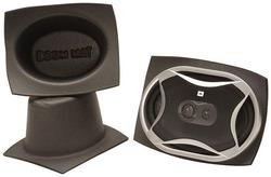 DEI Boom Mat Speaker Baffles 5 x 7 Oval Slim Pack of 2