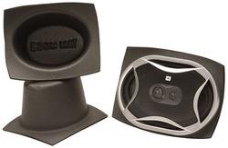 DEI Boom Mat Speaker Baffles 6 x 8 Oval Pack of 2