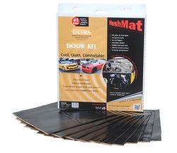 "HushMat Ultra Door Kit Black-ten 12""x12"" Sheets (10 sq. ft.)"