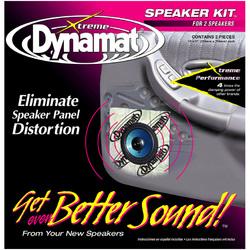 """DYNAMAT XTREME 1.4 SQ. FT. SPEAKER KIT; 2 PCS 10""""x10"""""""