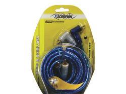 RCA CABLE 12' XSCORPION BLUE TRIPLE SHIELDED W/REMOTE WIRE