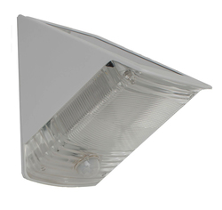 Maxsa SOLAR-POWERED MOTION-ACTIVATED WEDGE LIGHT - WHITE (RESHIPPABLE BOX)