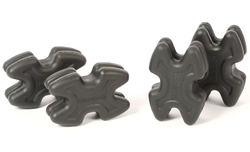 TwistLox Split Limb Dampener Bow- Black - 4 Pack