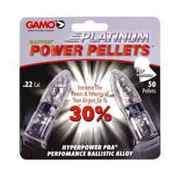 Gamo PBA Platinum .22cal Pellets (50 Count) - Blister Pack