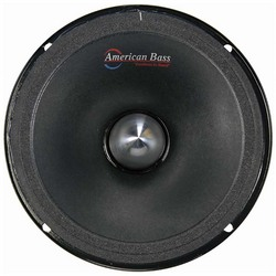 """American Bass 6.5"""" Midrange (Each) with Grill & Neodymium Magnet 4 Ohm"""