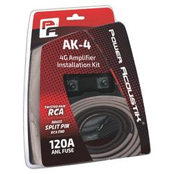 Power Acoustik 4 Gauge amp kit Mini ANL