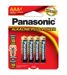 Panasonic AAA4 Alkaline Plus Power