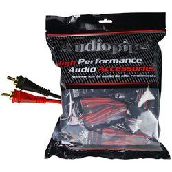 Audiopipe 12ft Oxygen Free RCA Cable - 10pcs per bag