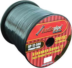 Audiopipe 12 Gauge 500Ft Primary Wire Black