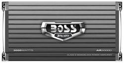 Boss Armor Class D Monoblock Amplifier 3000W Max