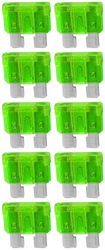 ATC(IS-ATO-30) FUSE 30 AMP; 25PC BAG; INSTALLATION SOLUTION