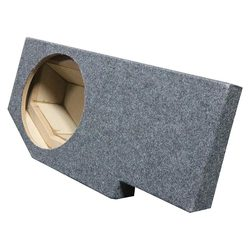 "QPOWER SINGLE 12"" EMPTY BOX FOR '02-'18 DODGE QUAD CAB/4 DOOR"