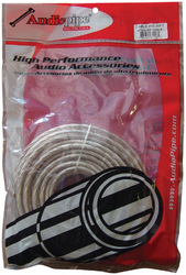 Audiopipe 10 ga. Speaker Cable 25ft (CABLE1025CLR)