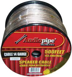 *CBP14500* SP WIRE 14GA 500' CLEAR AUDIOPIPE