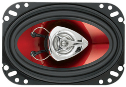 """Boss 4X6"""" Speaker 2-Way red poly injection cone"""