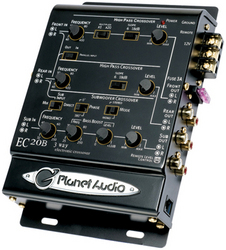Planet 3-Way electronic crossover with remote woofer level control
