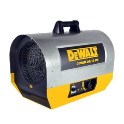 Category: Dropship Tools And Hardware, SKU #F340655, Title: Mr. Heater DeWalt (DXH2003TS) 68242 BTU 13/20 kW Forced Air Electric Construction