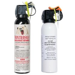 Frontiersman Bear Spray Maximum Strength 9.2 oz 35 Foot Range