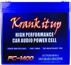 KRANK IT UP POWER CELL 1500 AMPS 12 VOLT; 60 Ah