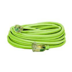 Flexzilla Pro Extension Cord 14/3 AWG SJTW 50ft Outdoor Lighted Plug