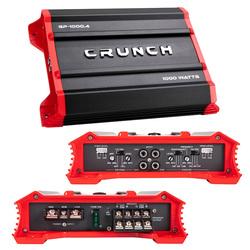 Crunch Ground Pounder 4 x 125 @ 4 Ohms 4 x 250 @ 2 Ohms 2 x 500 Watts @ 4 Ohms Bridged
